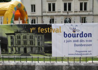 Accueil Festival Bourdon 2018