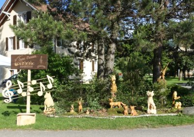 Erice Bindith / Sculpture sur bois